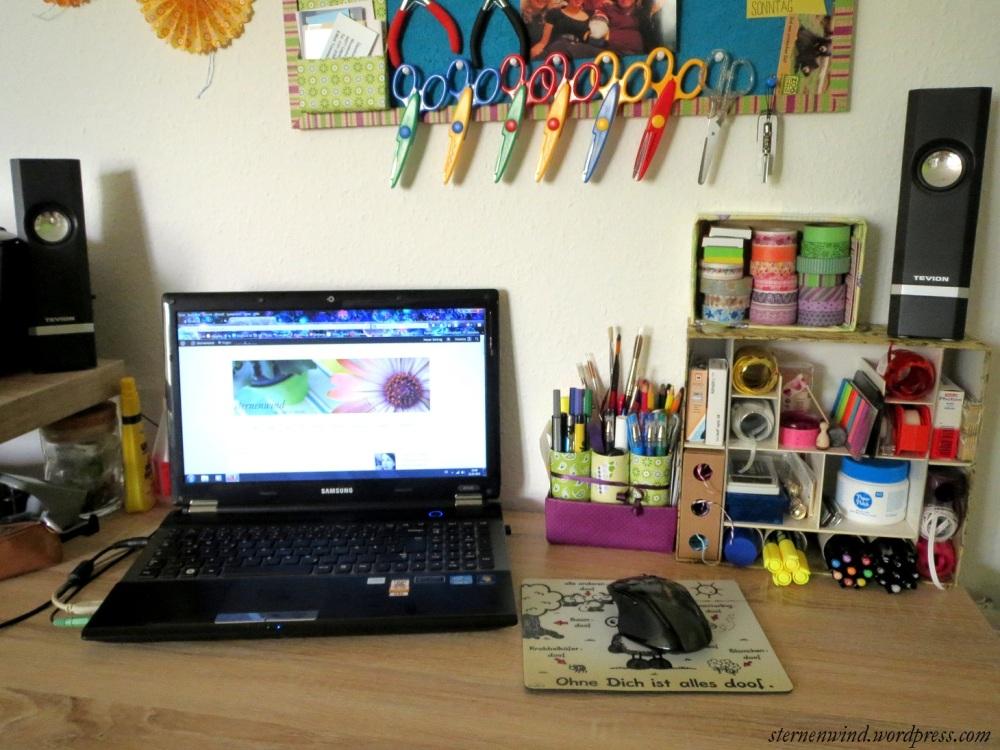 DIY: kleines Schreibtischaufbewahrungsregal (1/6)
