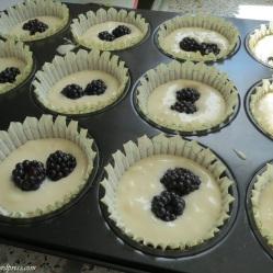 gefüllte Cupcakefärmchen