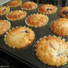 Cupcakes frisch aus dem Ofen
