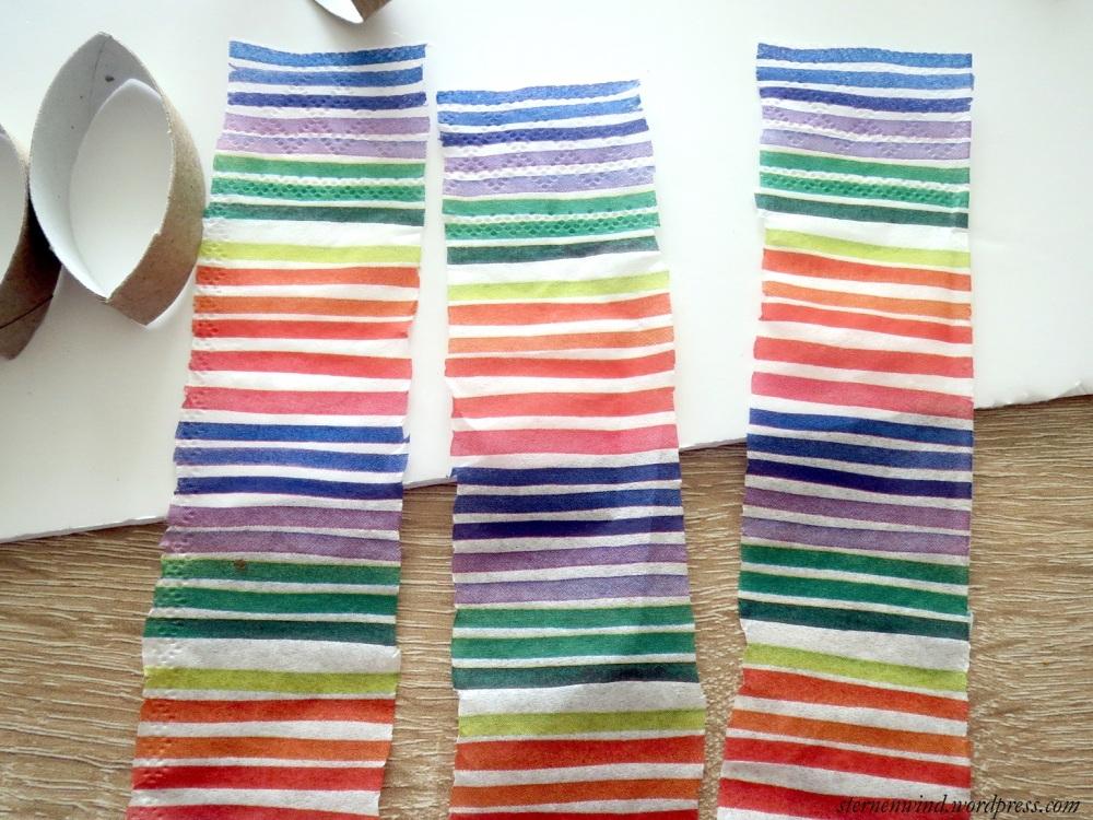 DIY: Küchenwanddeko aus Klopapierrollen (6/6)