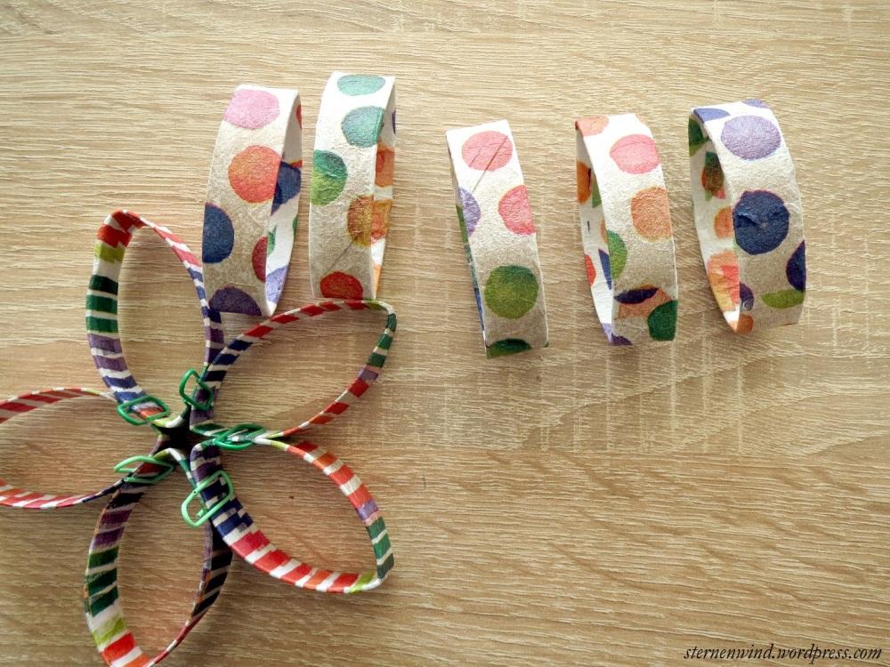 DIY: Küchenwanddeko aus Klopapierrollen (2/6)