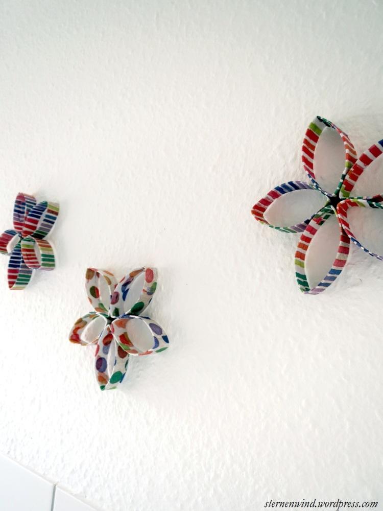 DIY: Küchenwanddeko aus Klopapierrollen (3/6)