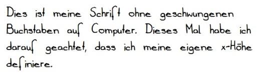 PC-Handschrift 2