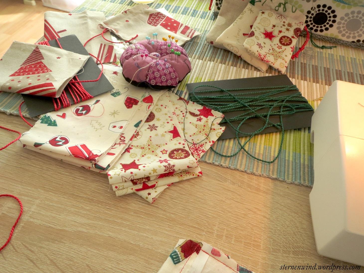 diy adventskalender aus stoff selber n hen teil 1. Black Bedroom Furniture Sets. Home Design Ideas