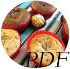 PDF Rezept Giotto- und Rocher-Muffins