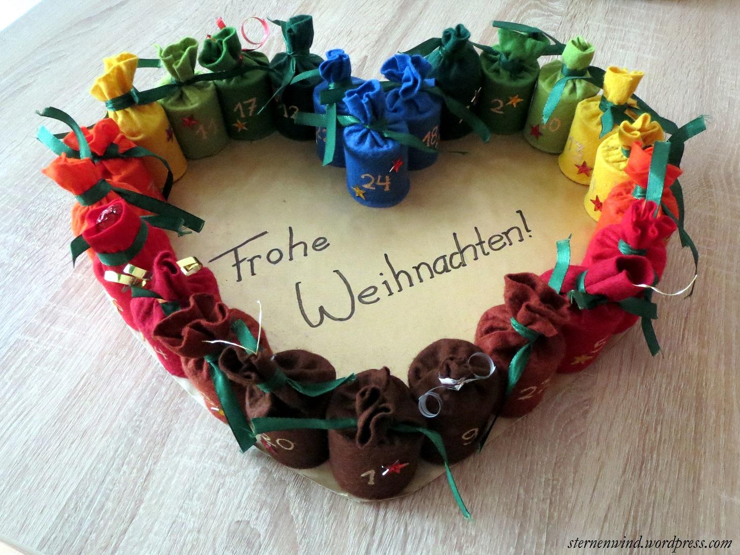 Diy Adventskalender Aus Klopapierrollen Sternenwind Blog
