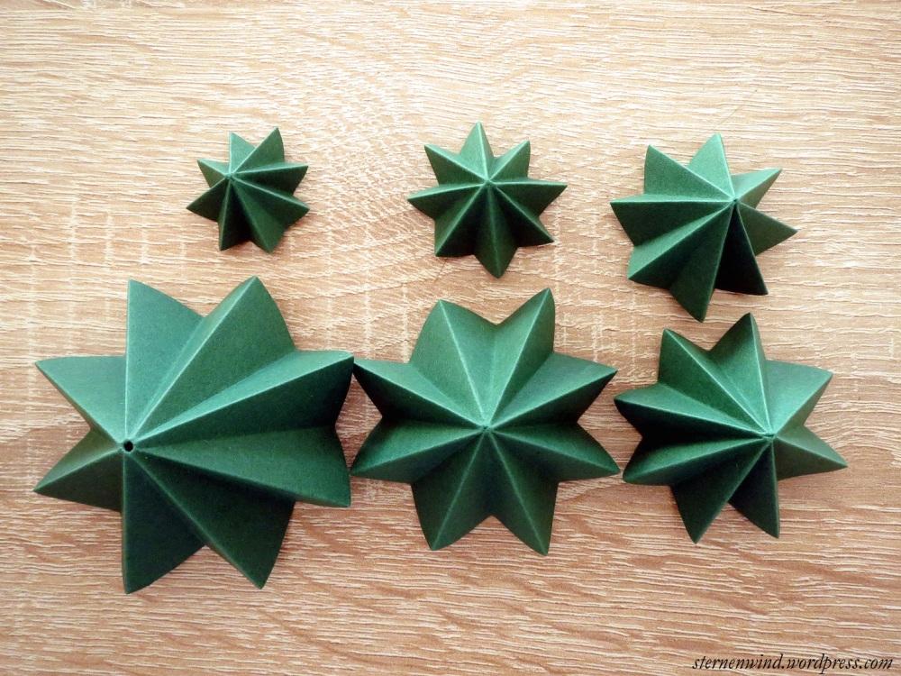 DIY: Tannenbäumchen aus Papier falten (4/6)