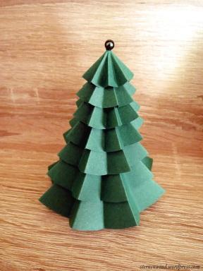 Papiertannenbaum