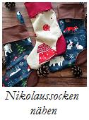 Nikolaussocken nähen