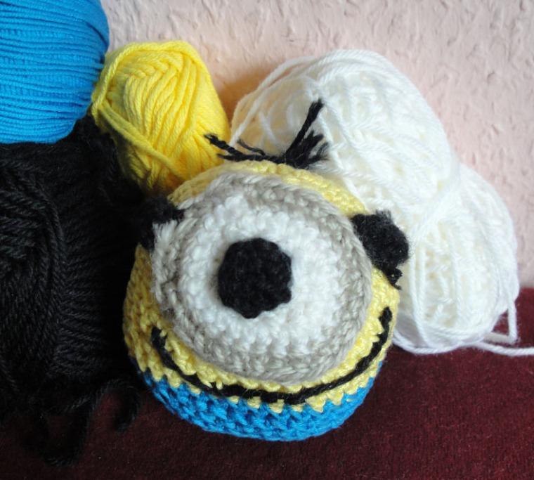 Minionball selbst häkeln