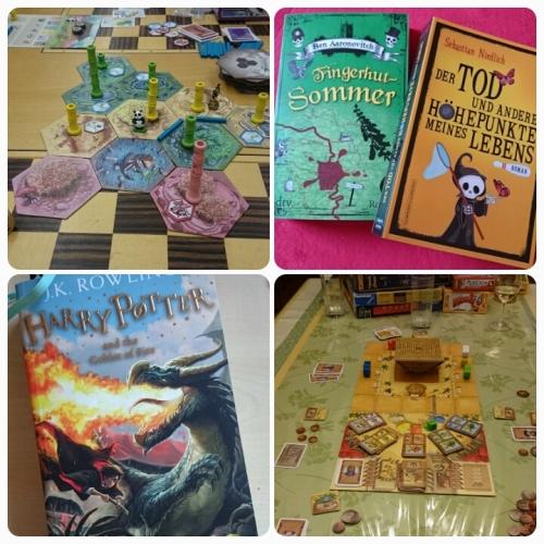 Bücher und Spiele