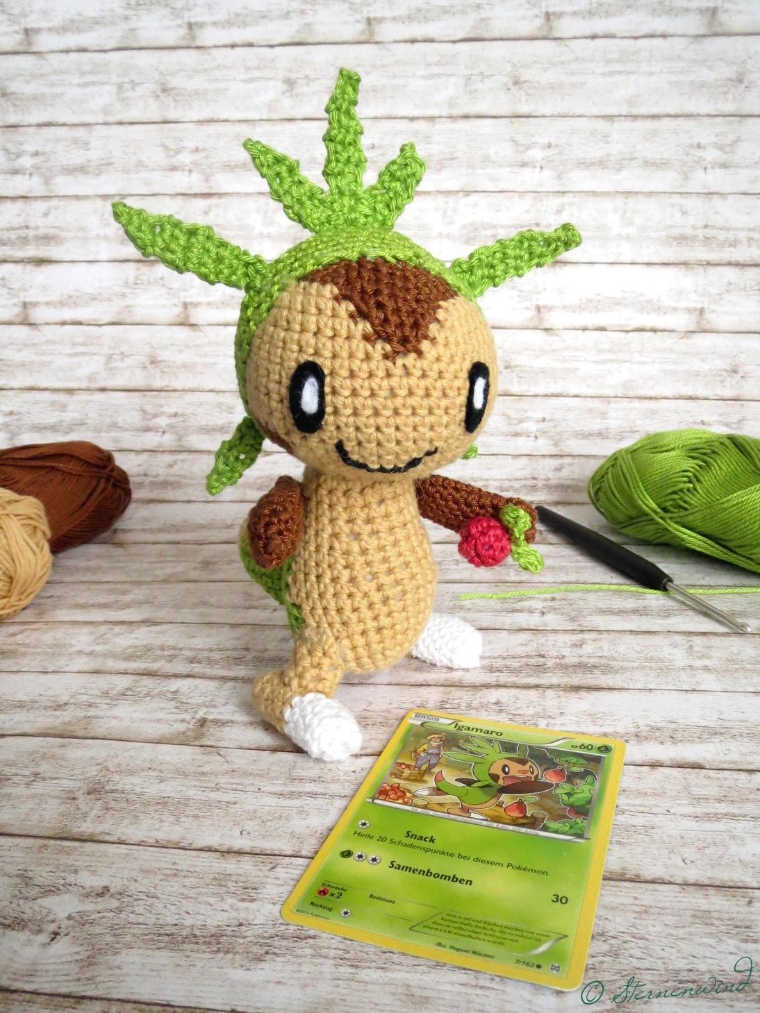 DIY Amigurumi Pokémon SOBBLE Amigurumi – PART 1 | FREE Pattern ... | 1459x1094