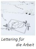 Lettering für die Arbeit