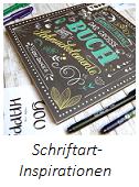 Lettering: Inspirationsquellen für Schriftarten