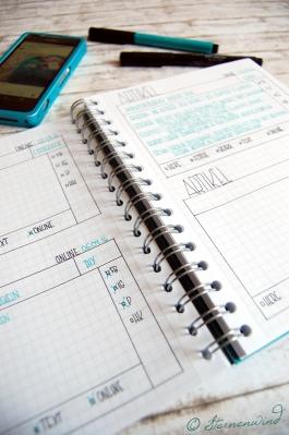 Blogplaner gestalten zur Blogorganisation