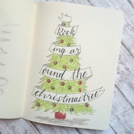 Handlettering Christmas
