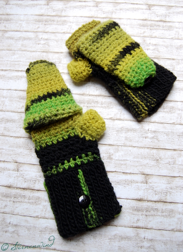 Diy Kuschelig Warme Handschuhe Häkeln Anleitung Sternenwind Blog