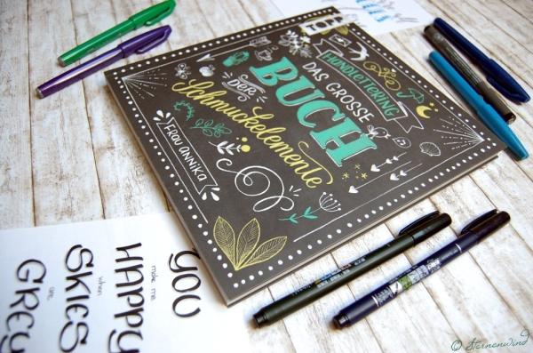 Handlettering Buch Frau Annika