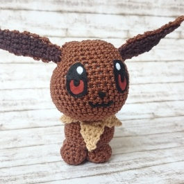 Evoli Pokemon häkeln Anleitung