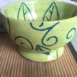 Keramik Schüssel bemalen