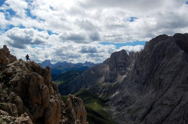 Blick Rosszahnscharte Südtirol