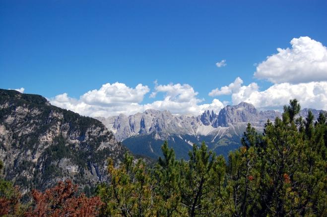 Blick vom Tschafon Südtirol