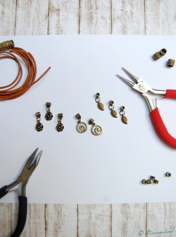 Lederarmband mit Magnetverschluss gestalten