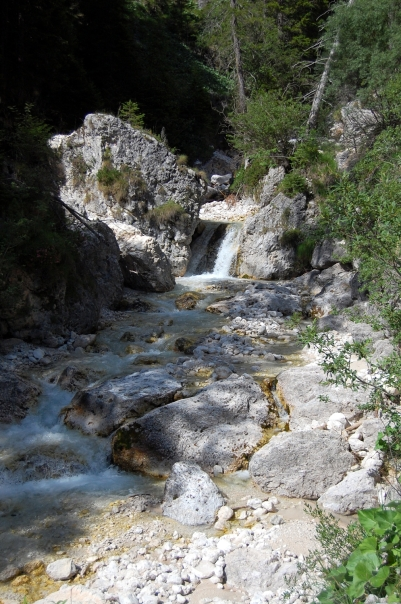 Tschamintal Bach Südtirol