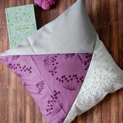 Anleitung Kissen ohne Reißverschluss oder Knöpfe nähen