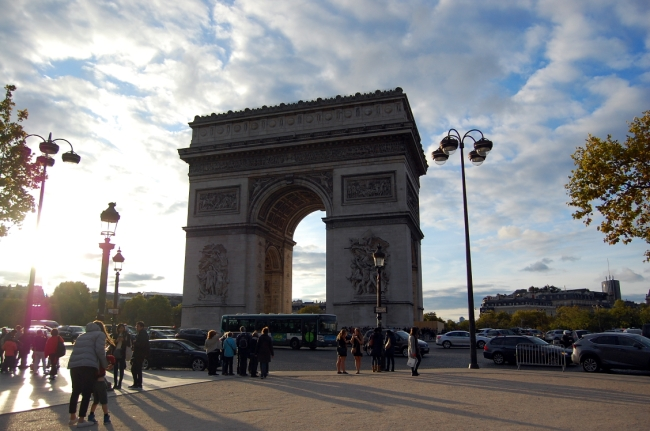 Paris Arc de Tripmphe