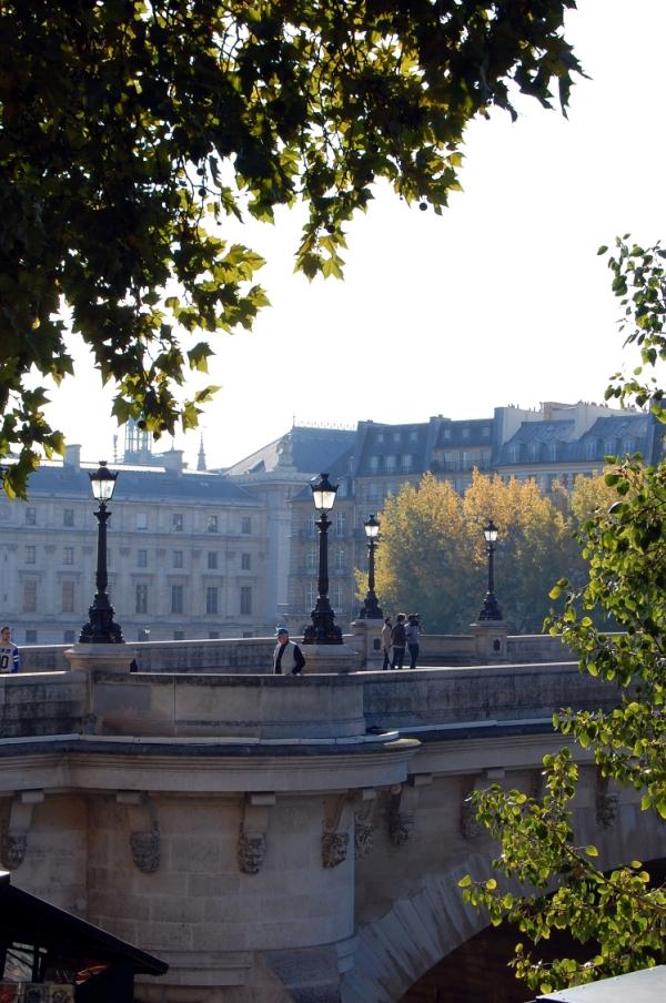 Paris Brücke Seine