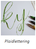 Anleitung Plaidlettering