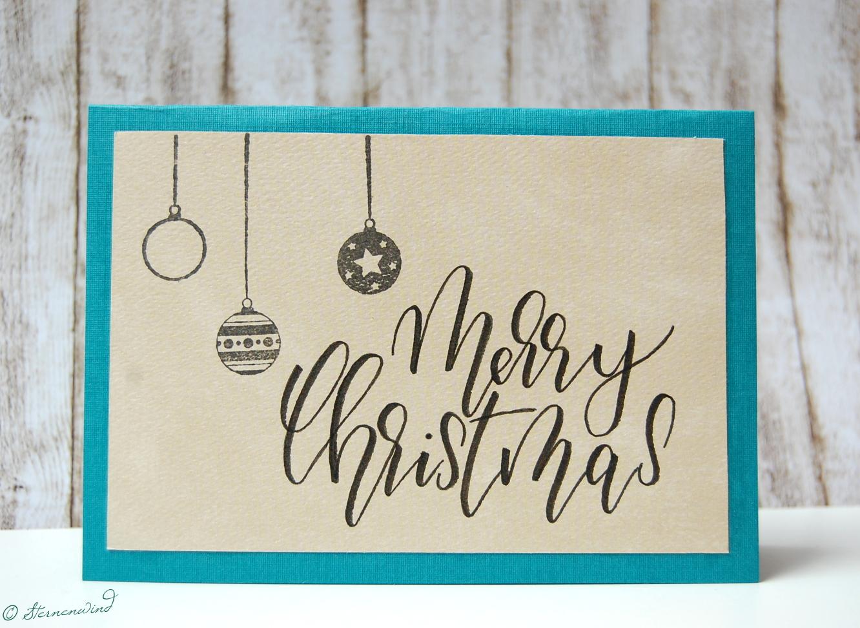 lettering 16 weihnachtskarten lettern teil 2 mit. Black Bedroom Furniture Sets. Home Design Ideas
