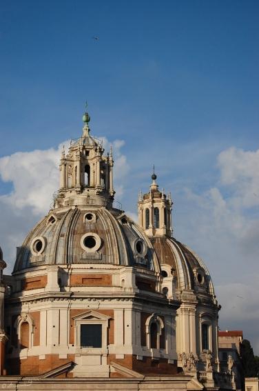 Rom Santa Maria di Loreto Chiesa SS Nome di Maria