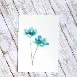 Aquarell Blume