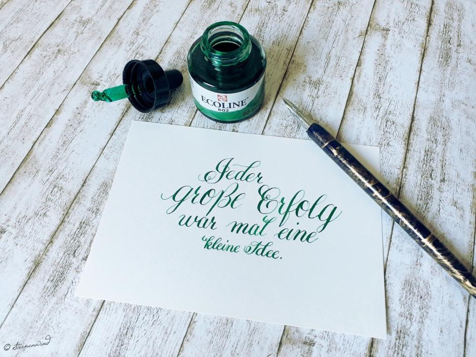 Kalligrafie für Einsteiger