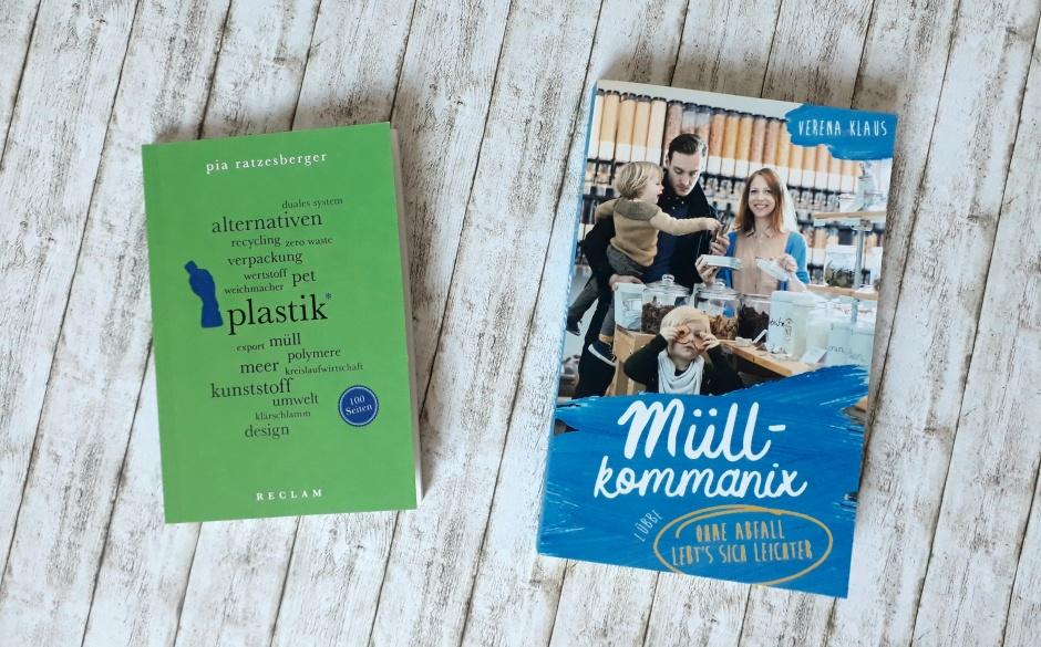 Bücher Müllkommanix und Plastik