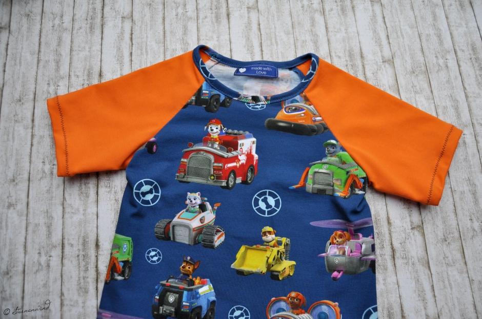 Kinder-T-Shirt nähen